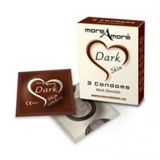 More Amore Condom Dark Skin 3 Pack